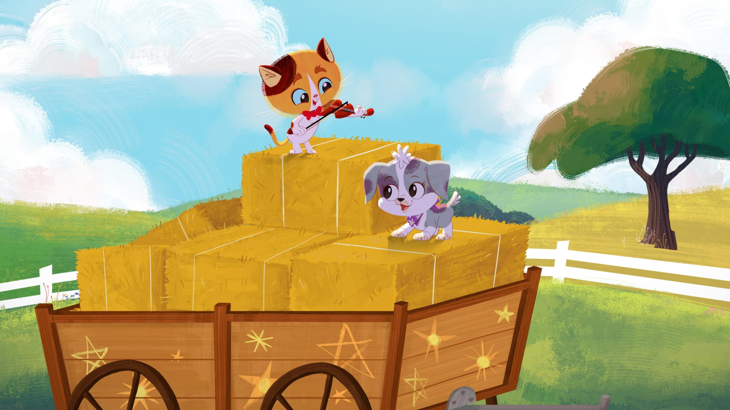 RHyme Time Town Cole, Daisy. Discover more about your favorite characters from the colorful world of Rhyme Time Town. Join Daisy and Cole in 10 all-new singing adventures through the Rhyme Time Town Sing Along,coming to Netflix on December 22nd!