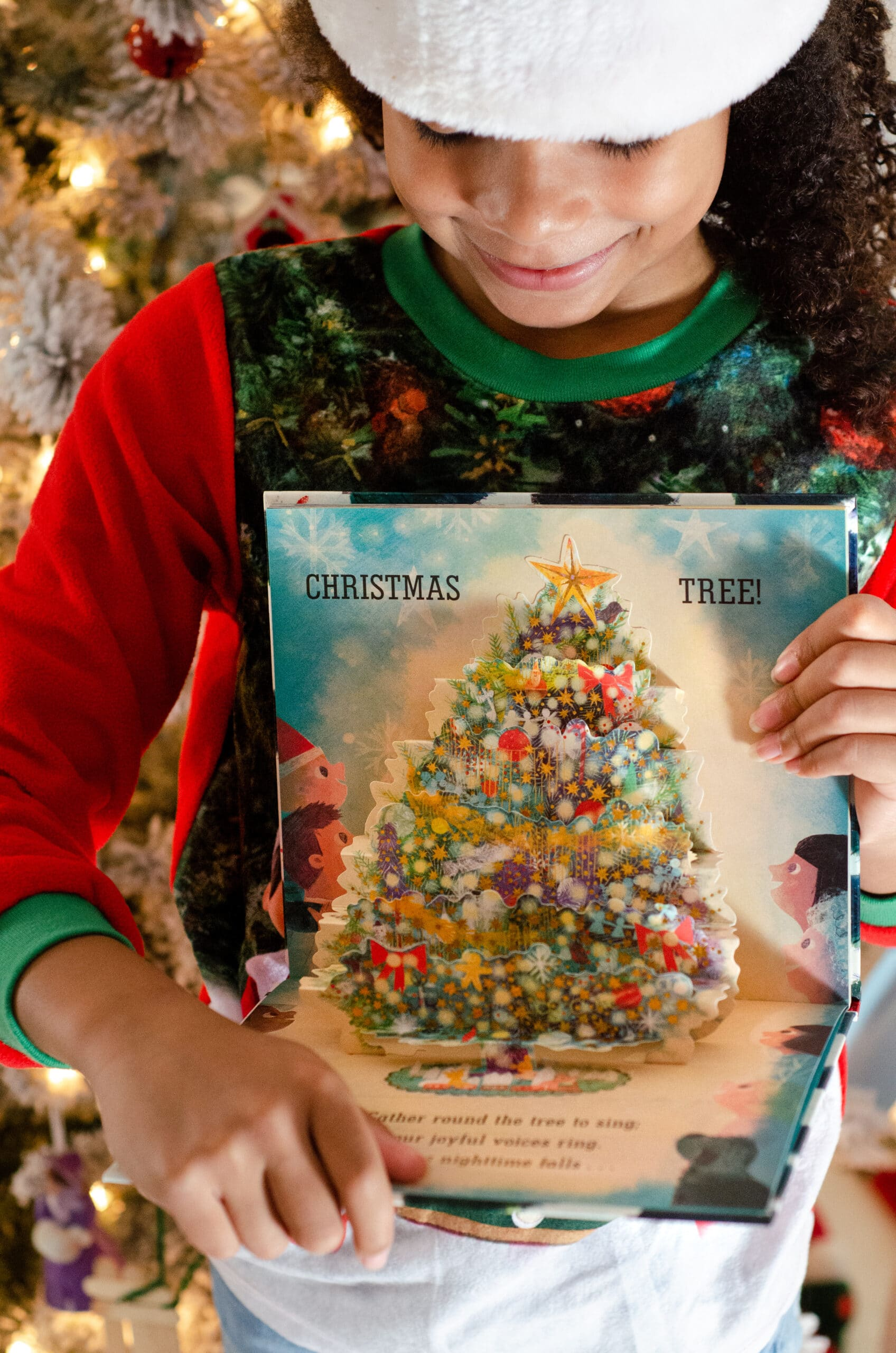Pick A Pine Tree Pop Up Christmas Tree Book. Give the gift of literature this holiday season! These wonderful holiday books for kids make great stocking stuffer gifts. Create your very own Christmas Tree Advent Calander using these Children's holiday books, simply stack them into a tree for a new fun holiday tradition.