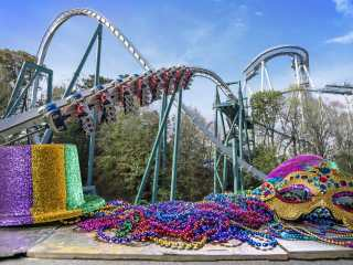 Mardi Gras_Alpengeist. Enjoy the new Busch Gardens Williamsburg 2021 special events that offer socially distanced fun and entertainment all year long. Busch Gardens will be the place for all things fun, new, and safe in 2021.