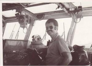 Bridge of the USS Midway 1972 Jay Wren