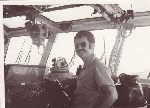 Bridge of the USS Midway 1972 Jay Wren
