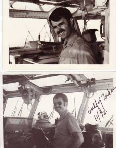 Jay Wren Bridge of the USS Midway 1972