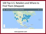 100 Top U.S. Retailers and Where to Find Them (Mapped)