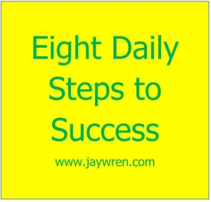 Eight Daily Steps to Success