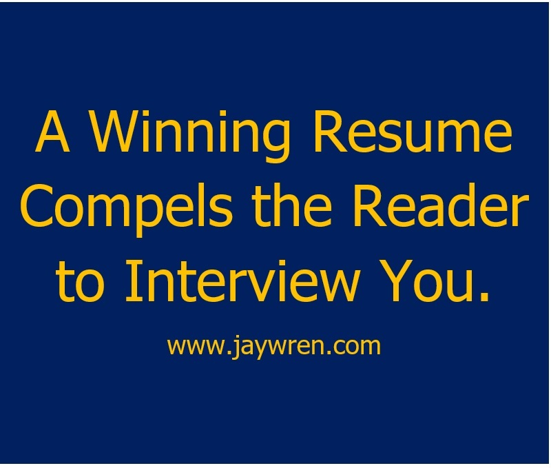 resume writing made simple here s how jay wren