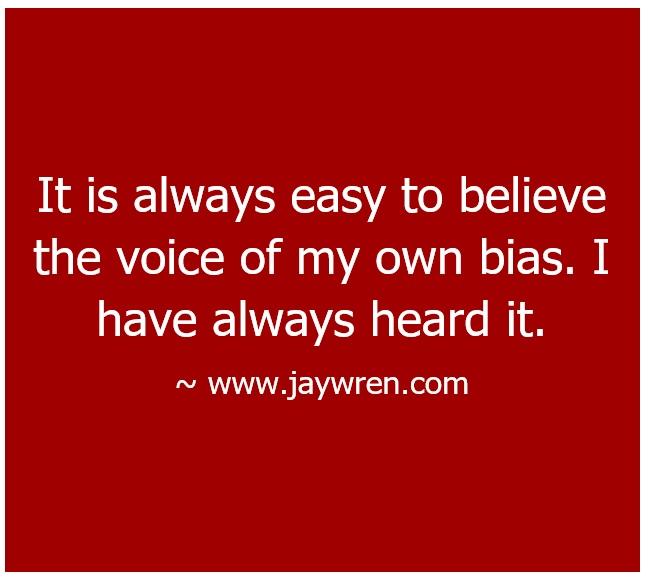 Wisdom and Bias