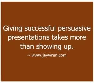 Persuasive Presentations 1