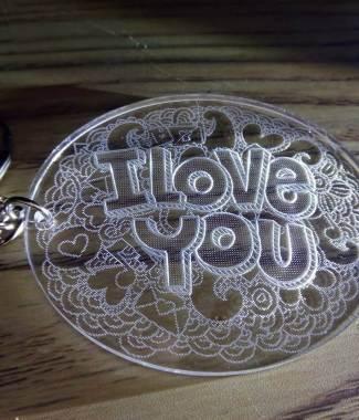 i love you sleutelhanger