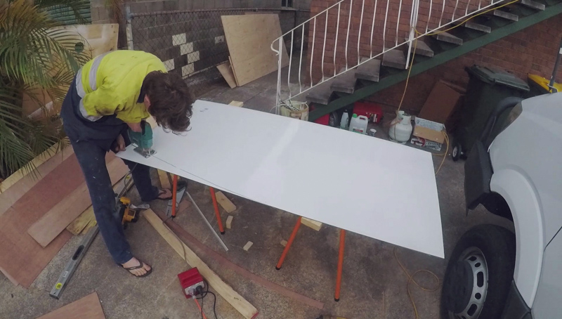 Ep.5 Shower sheeting 1