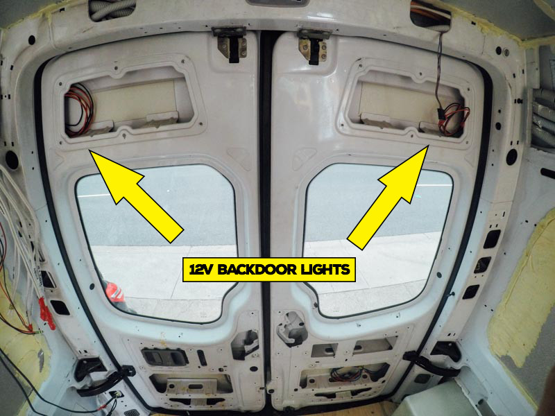 Backdoor lights