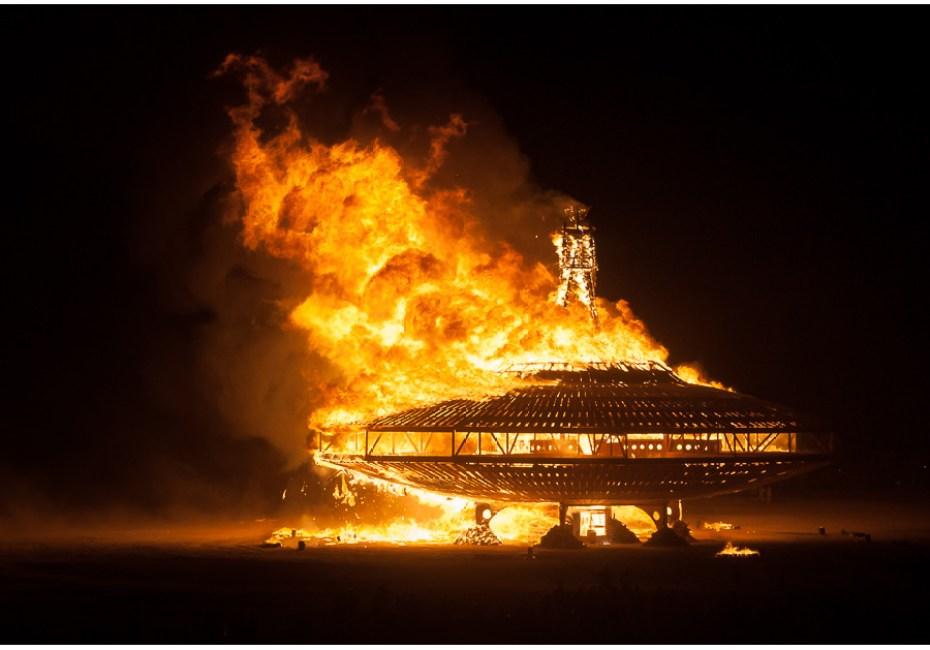 Man On Fire by Joe Azure.