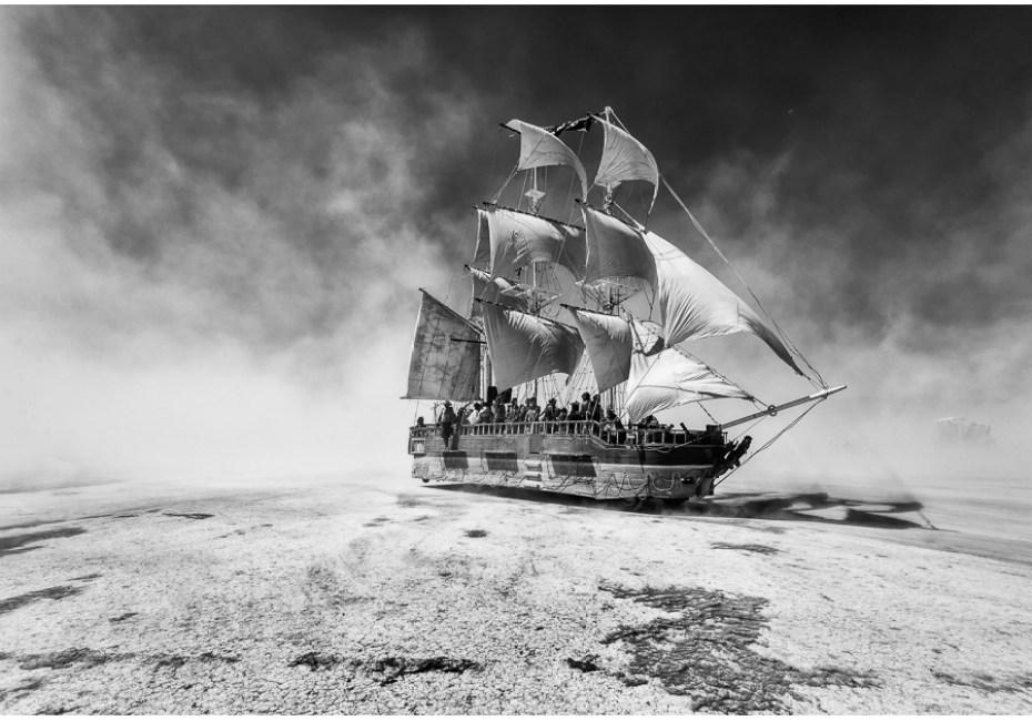 Reaching Downwind by Joe Azure.