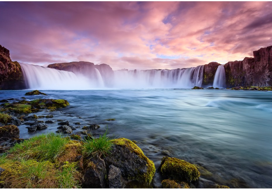 Waterfall of the Goði by Joe Azure.