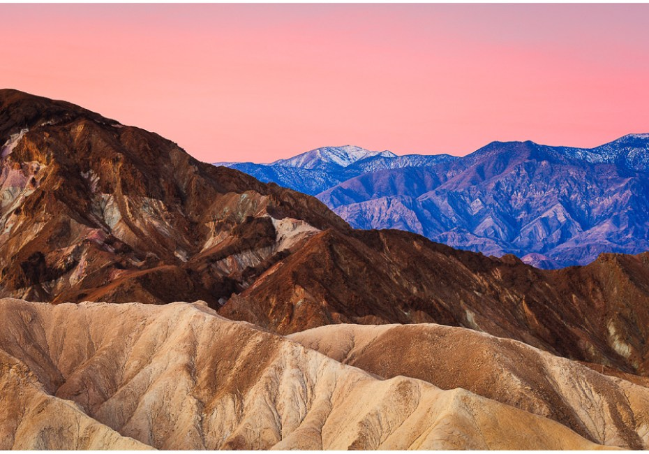 Zabriskie Morning Light by Joe Azure.