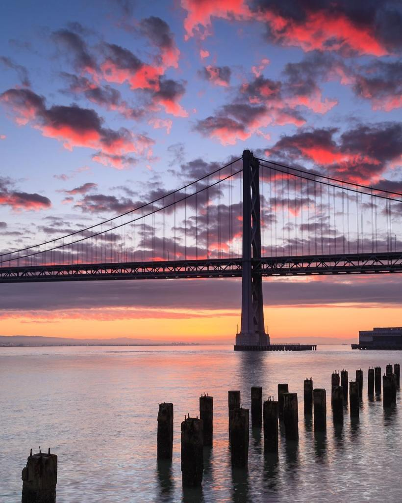 Sunrise on The Embarcadero  Thank you San Francisco forhellip