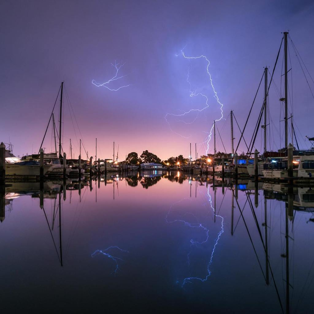 Energy Reflected  Last night brought lots of lightning tohellip