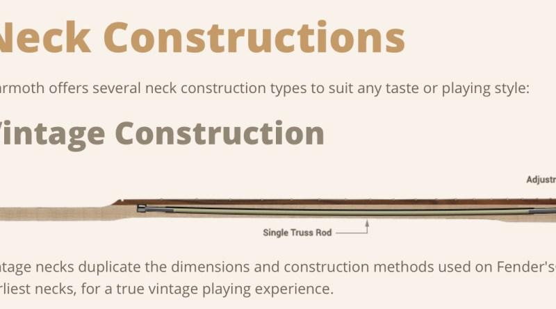 Warmoth Neck Construction