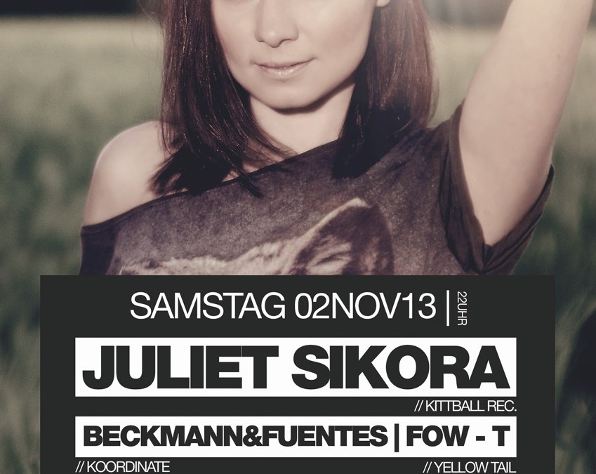 Koordinate presents Juliet Sikora (Kittball Rec.)