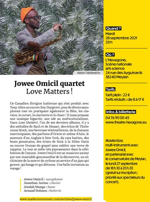 Jowee Omicil Quartet