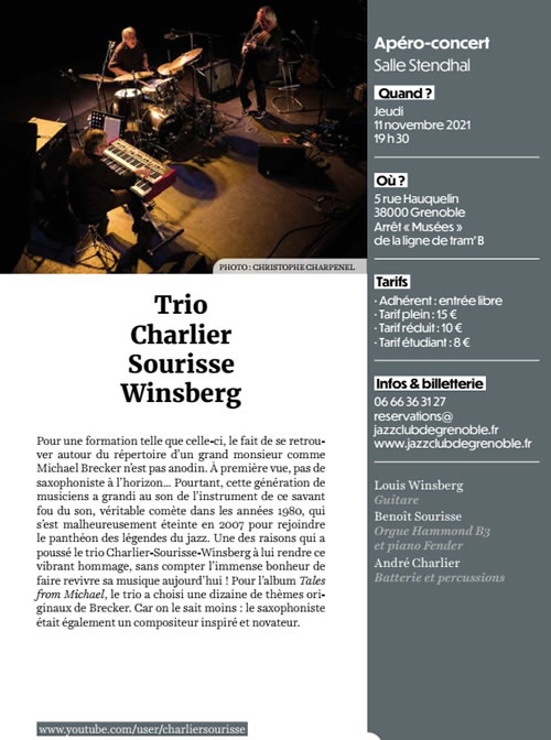 Trio Charlier Sourisse Winsberg