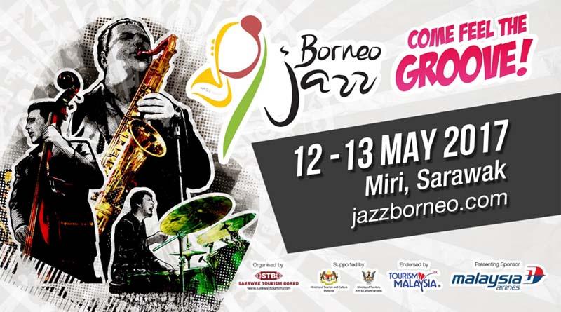 届婆罗洲爵士音乐节 2017