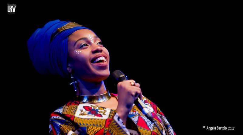 Blue Note Milano, Jazzmeia Horn - Live Reportage Angela Bortolo cn