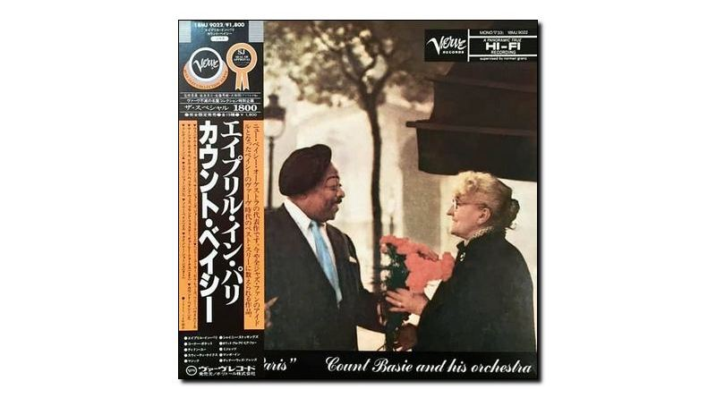 The Count Basie and his Orchestra, April In Paris, Verve, 1957 - tw