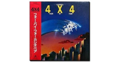 Casiopea 4 x 4 Alfa Records 1982
