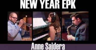Anne Sajdera New Year YouTube Video Jazzespresso Revista Jazz