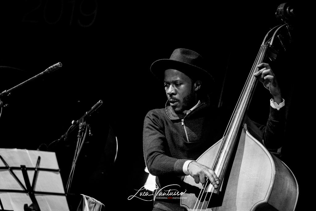 Luca Vantusso 爵士音樂人物肖像攝影 Iverson Sanders