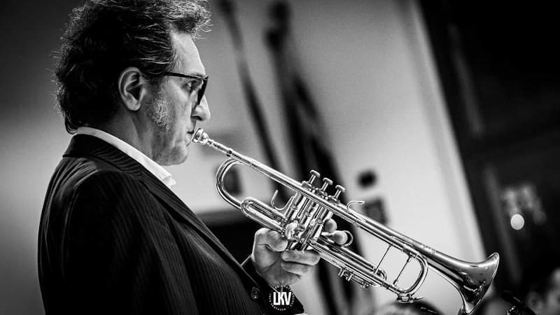Luca Vantusso 爵士音樂人物肖像攝影 Alberto Mandarini