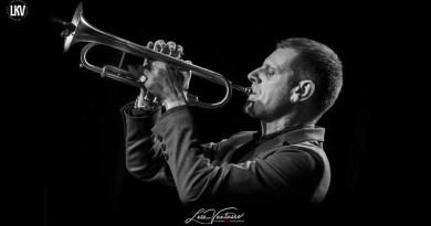 Luca Vantusso 爵士音乐人物肖像摄影 Fabrizio Bosso Jazzespresso