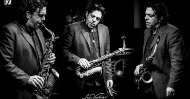 Christian Brewer Blue Note Luca Vantusso Retrato Jazzespresso 2019