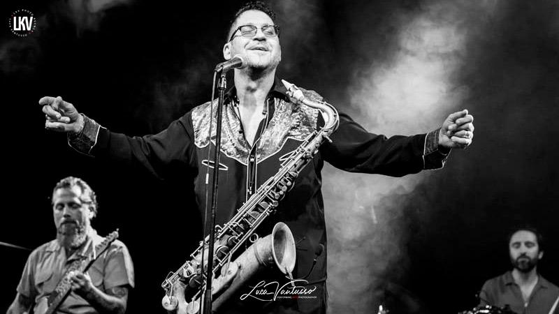 Sax Gordon 阿斯科纳Luca Vantusso 爵士音乐人物肖像摄影