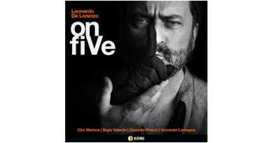 Leonardo De Lorenzo Quintet onfiVe AlfaMusic 2021 Jazzespresso CD