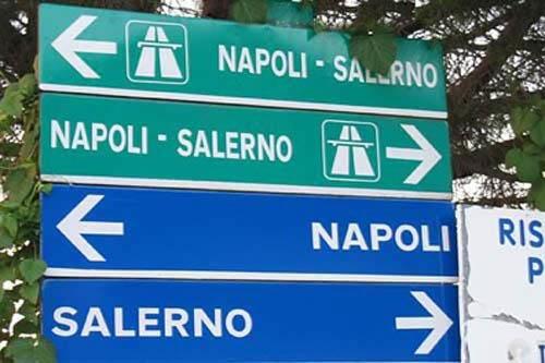 Le indicazioni stradali per la Na.Sa.