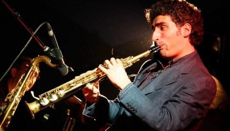 Felice Clemente al clarinetto