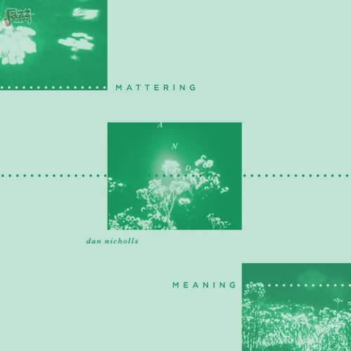 Mattering and Meaning-Dan Nicholls
