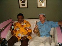 Fats Domino and Jerry Embree