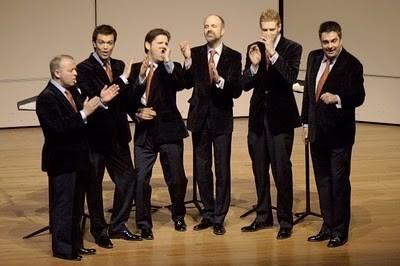 Кинг Сингерс, The King's Singers - концерт в Москве