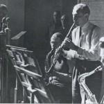 Jazzaufnahme im BR. Foto: BR, Historisches Archiv