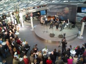 Konzert im Doppelkegel bei den Jazzwochen 2007