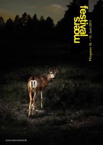 Plakat für das moers-festival 2011