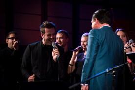 Daniel Cacija im Duell mit Kurt Elling. Foto: Petra Basche