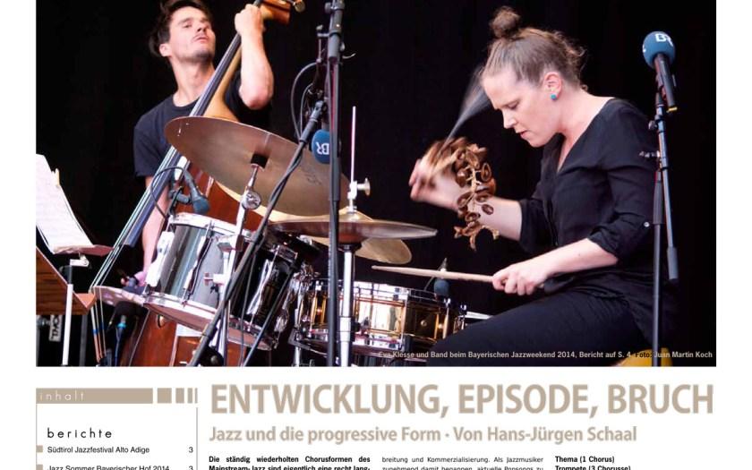 JazzZeitung 2014/04 - Titelblatt