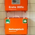 Rettungstuch. Foto: Hufner
