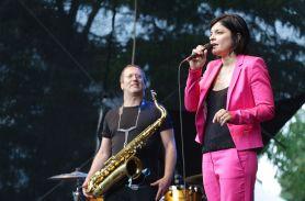 Jasmin Tabatabai mit David Klein. Foto: Ralf Dombrowski