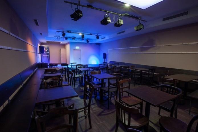 """Die Räumlichkeiten des neuen Jazzclubs in Augsburg. Ute Legner: """"Noch nicht ganz fertig, aber man kann schon ganz gut sehen, wo es hingehen soll!"""" Foto: jazzclub augsburg e.V."""