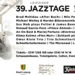 +++ News +++ Jazz Federation Hamburg präsentiert: Phronesis im Cascadas +++ Jazzclub Leipzig: Termine im Oktober +++ 23. Jazzfest Kassel +++