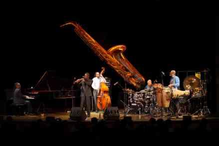 Kenny Garrett Quintett im Wolf-Ferrari-Haus in Ottobrunn, Oktober 2015. Alle Fotos Thomas J. Krebs